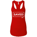 SAVED Ladies Ideal Racerback Tank