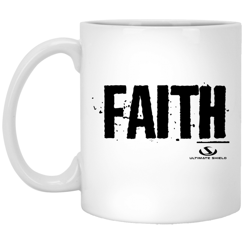 FAITH 11 oz. White Mug