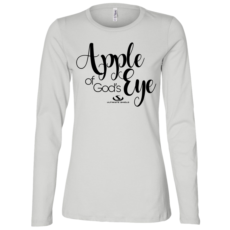 APPLE OF GOD'S EYE Ladies' Jersey LS Missy Fit