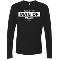 MIGHTY MAN OF VALOR Men's Premium LS