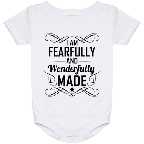 I AM FEARFULLY AND WONDERFULLY MADE Onesie 24 Month