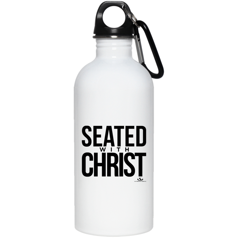 SEATED WITH CHRIST 20 oz. Stainless Steel Water Bottle