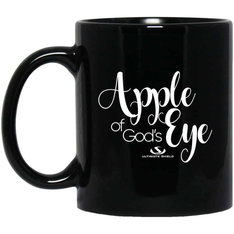 APPLE OF GOD'S EYE 11 oz. Black Mug
