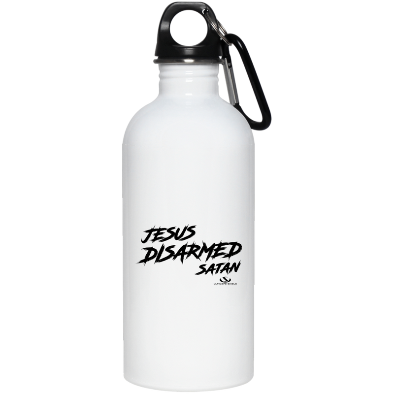 JESUS DISARMED SATAN 20 oz. Stainless Steel Water Bottle