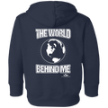 THE WORLD BEHIND ME Toddler Fleece Hoodie