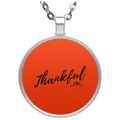 THANKFUL Circle Necklace