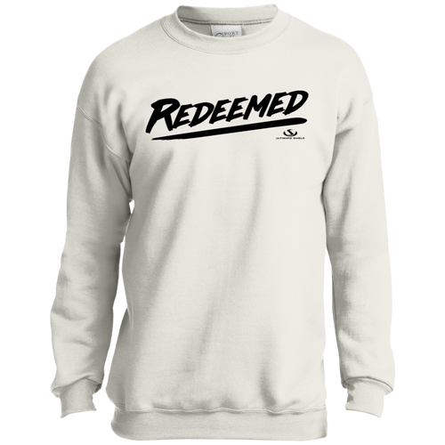 REDEEMED Youth Crewneck Sweatshirt