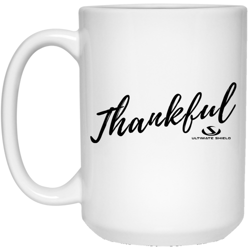 THANKFUL 15 oz. White Mug