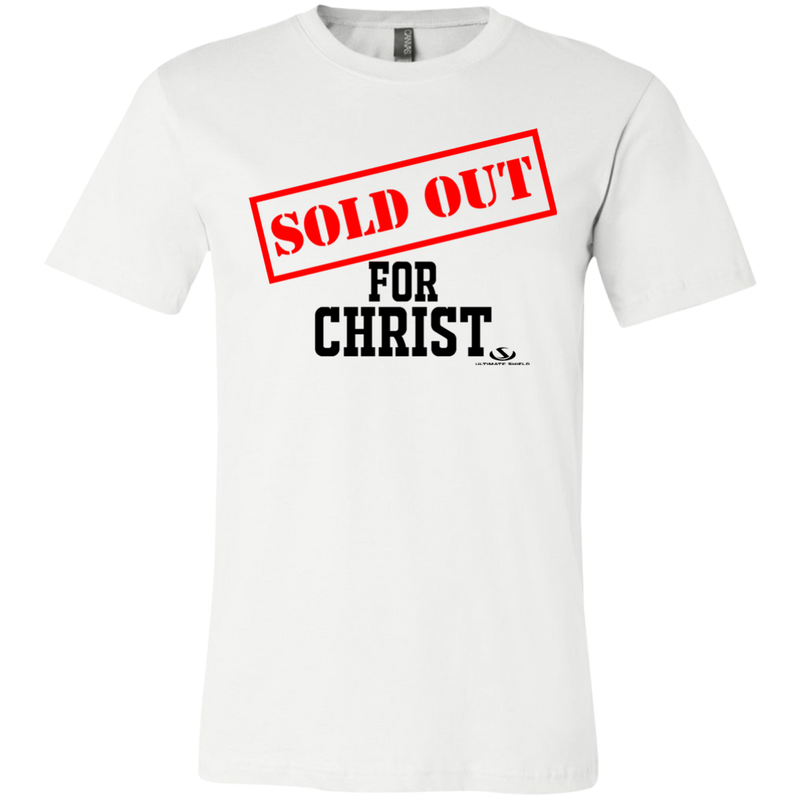 SOLD OUT FOR CHRIST Jersey Short-Sleeve T-Shirt