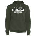 THE LORD IS MY FORTRESS Fleece Pullover Hoodie