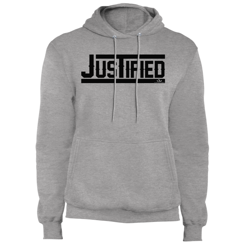 JUSTIFIED Fleece Pullover Hoodie