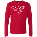 GRACE WINS Men's Premium LS