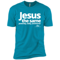 JESUS IS THE SAME YESTERDAY TODAY AND FOREVER Premium Short Sleeve T-Shirt