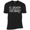 O' DEATH WHERE ARE YOUR THORNS Short Sleeve T-Shirt