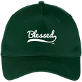 BLESSED Five Panel Twill Cap