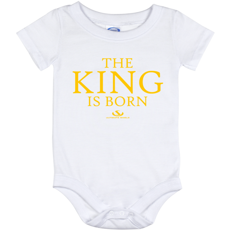 THE KING IS BORN  Onesie 12 Month
