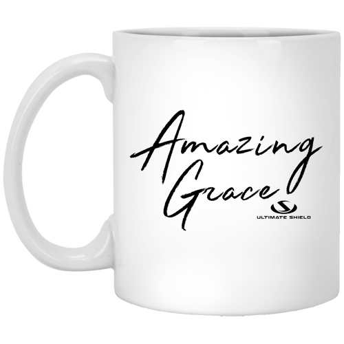 AMAZING GRACE 11 oz. White Mug