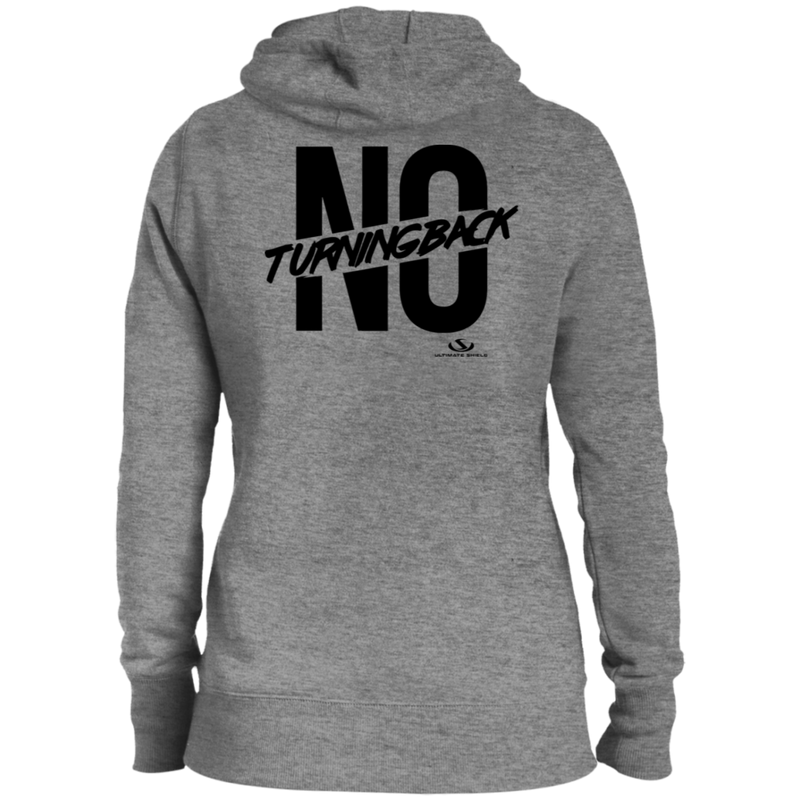 NO TURNING BACK Ladies' Pullover Hooded Sweatshirt