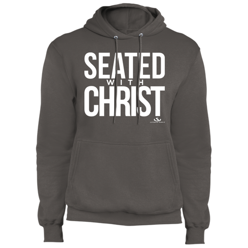SEATED WITH CHRIST Fleece Pullover Hoodie