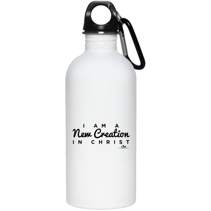 I AM A NEW CREATION IN CHRIST 20 oz. Stainless Steel Water Bottle
