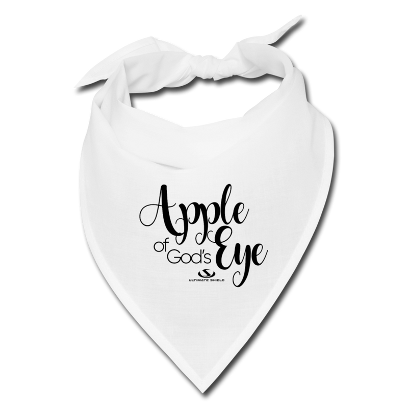 APPLE OF GOD'S EYE Bandana - white
