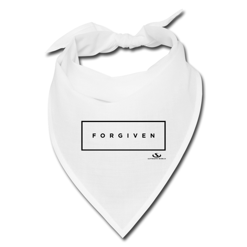 FORGIVEN Bandana - white