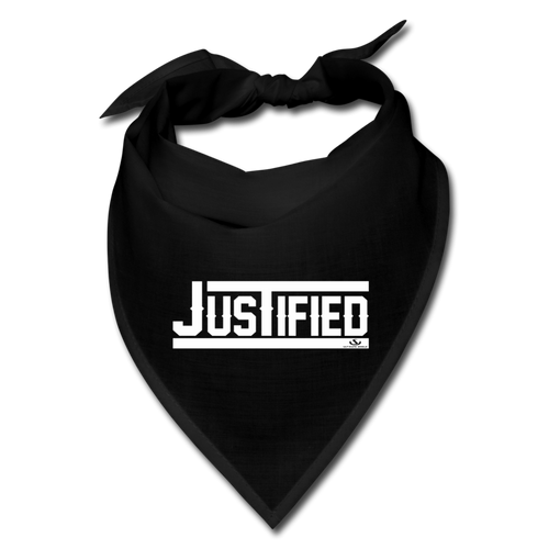 JUSTIFIED Bandana - black