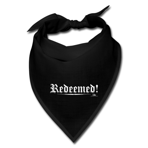 REDEEMED Bandana - black