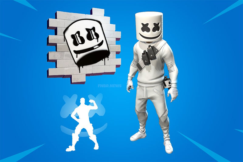 'Fortnite' Is Holding A Marshmello Concert In-Game