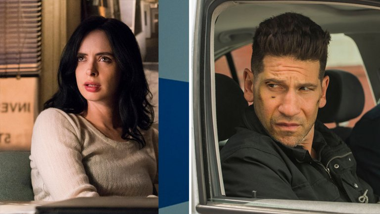 'Jessica Jones' (left), 'The Punisher'