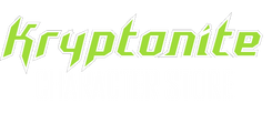 Kryptonite Character Store Logo Pigeon Forge Super hero store