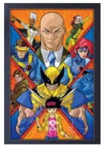 Marvel X-Men Crystex 11x17 Wall Art
