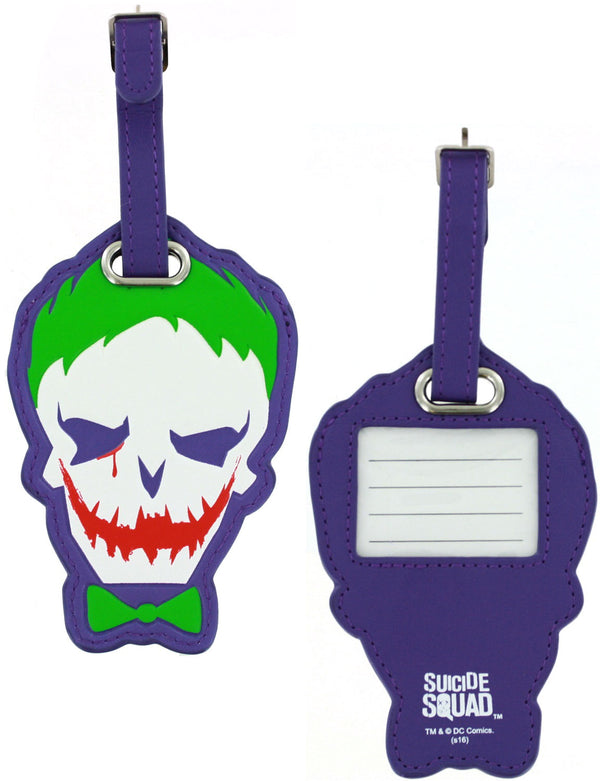 BioWorld Suicide Squad Joker PU Luggage Tag
