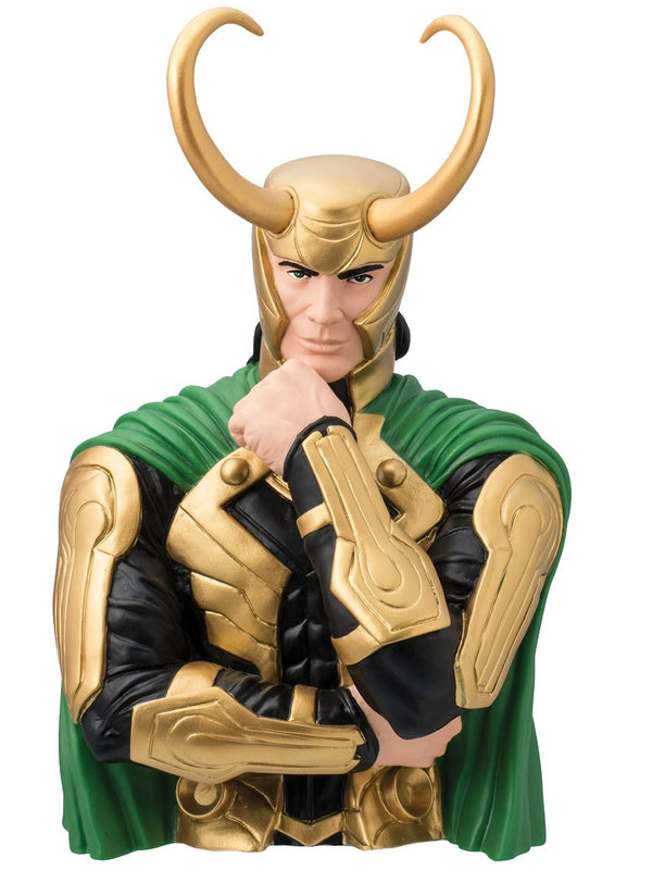 Marvel - Loki with Helmet Bust Coin Bank