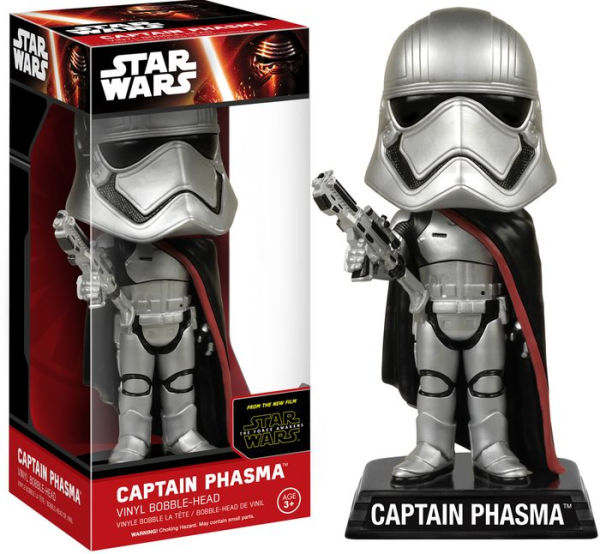 Star Wars: Episode 7 - Captain Phasma Wacky Wobbler Bobble Head