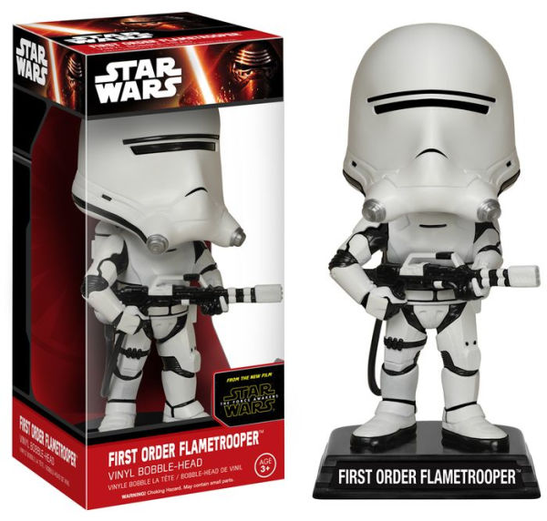 Star Wars: EP7 - First Order Flametrooper Bobble Head