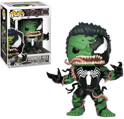 Marvel: Venom - Venom/Hulk Pop Vinyl Figure - Kryptonite Character Store