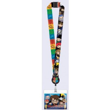 Lanyard - Harry Potter - Kawaii w/Zip Lock Card Holder