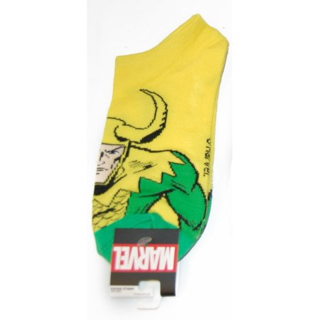 Marvel Loki Ankle Socks - Kryptonite Character Store