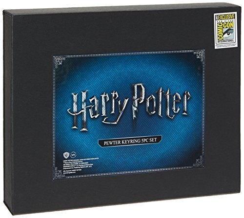 Harry Potter Sdcc 2017 Exclusive Pewter Key Rings