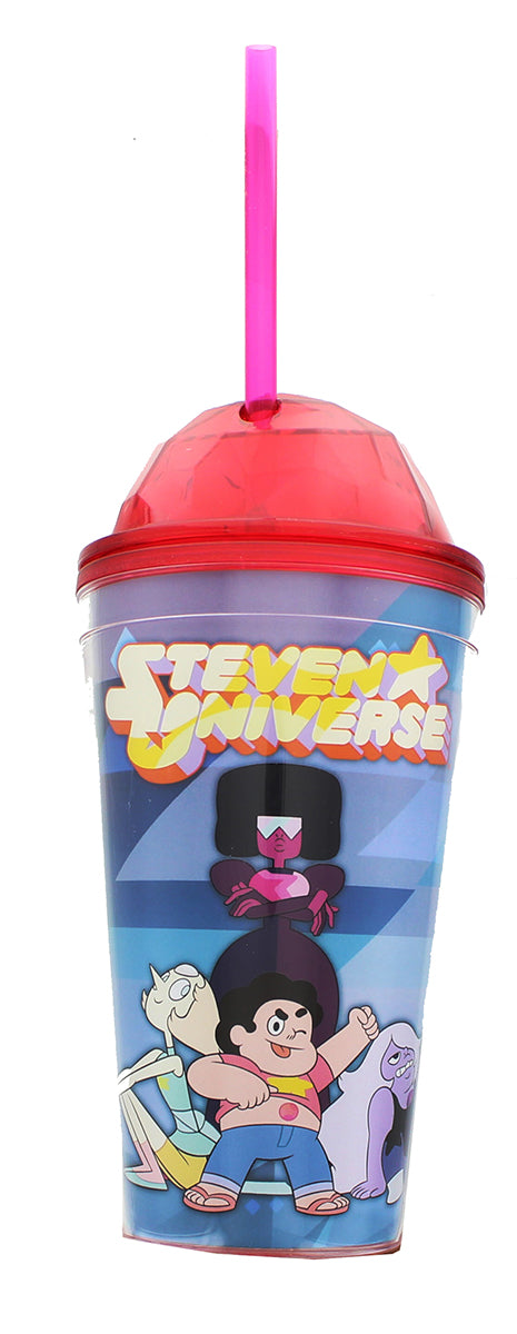 Steven Universe Dome 16oz. Straw Cup - Kryptonite Character Store