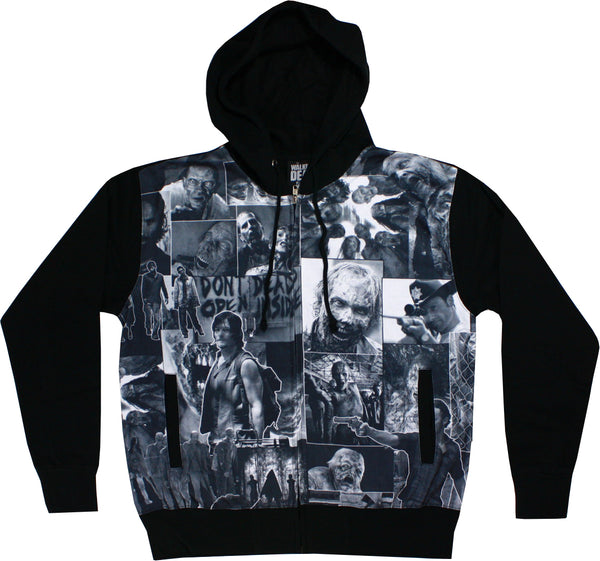 The Walking Dead - Collage Zip-up Hoodie