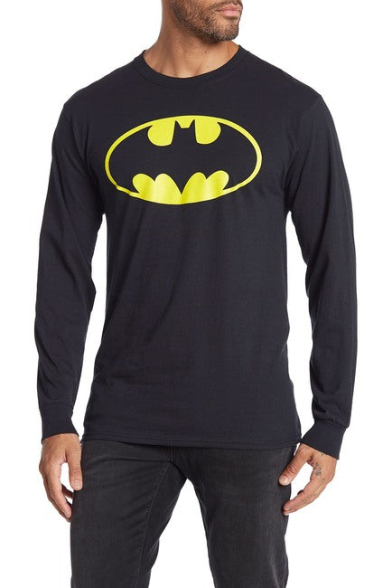 Batman Graphic Print Long Sleeve T-Shirt