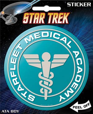 Star Trek Starfleet Medical Die-Cut Sticker