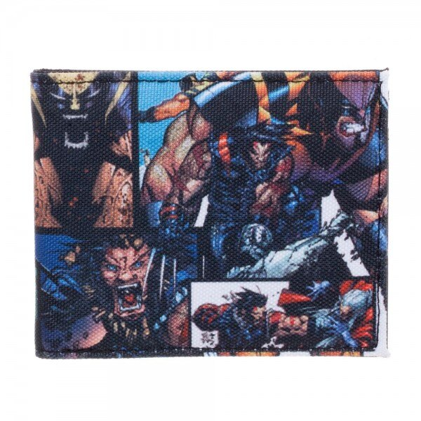 X-men Wolverine Comics Bi-Fold Wallet - Kryptonite Character Store