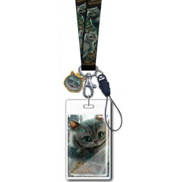 Disney Cheshire Cat Through the Looking Glass Lanyard