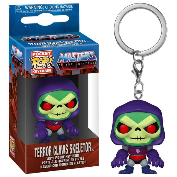 Funko Pop Keychain: MOTU-  Skeletor W/ Terror Claws