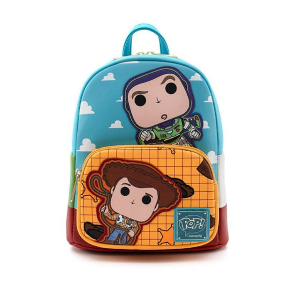 Disney Pixar Toy Story  Buzz and Woody Mini Backpack