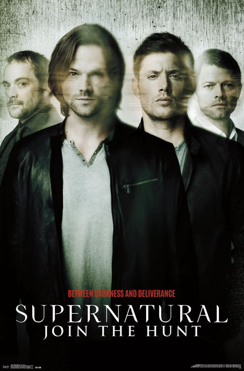 Supernatural - Key Art 11 Wall Poster - Kryptonite Character Store