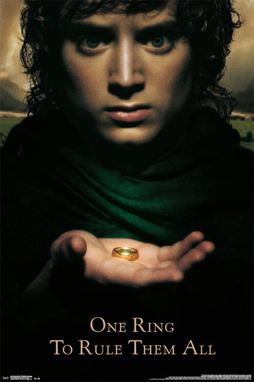 Lord of the Rings - Fellowship Wall Poster - Kryptonite Character Store